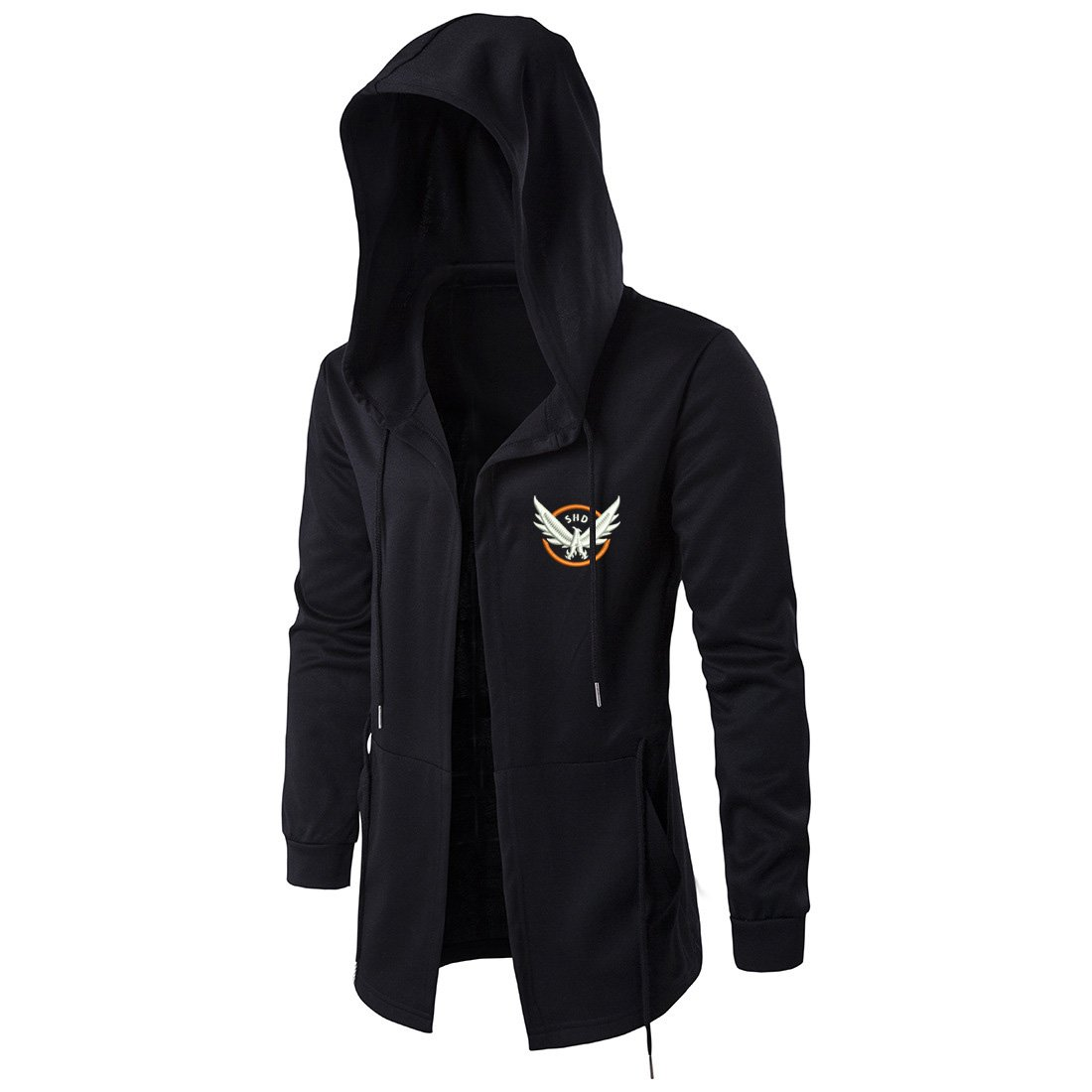Tom Clancy's The Division Embroidery Hooded Cosplay Costume Men Coat