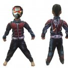 Ant-man child halloween party fancy dress for kids cosplay performance costume