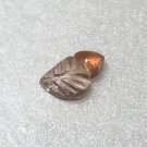 10x6mm Bi-Color Peach Tourmaline Carving 1.40ct (12T)