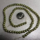 Lime Freshwater Pearl Strand