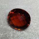 Madeira Citrine Oval Checker 20x17x13 27.91ct