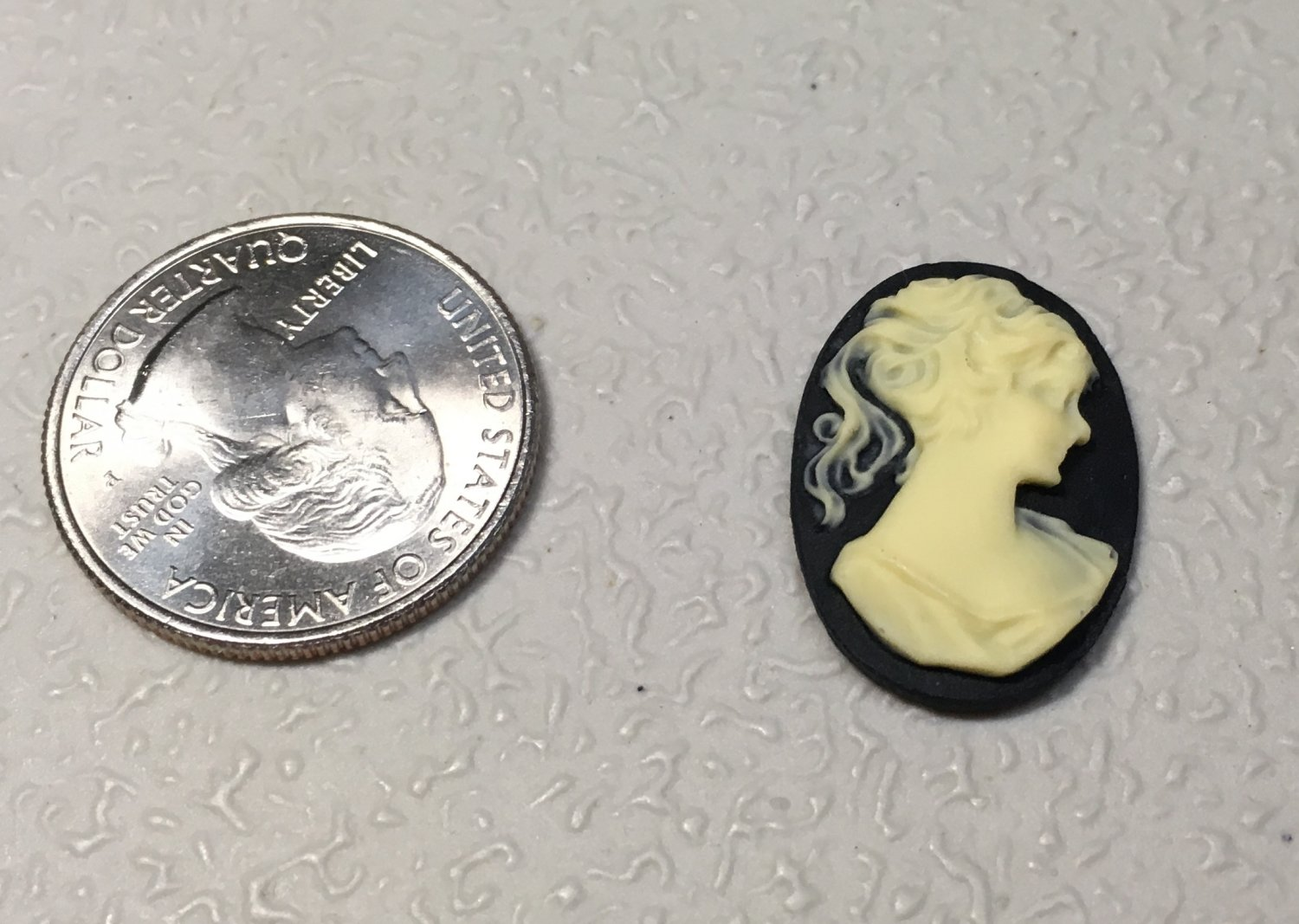 Plastic Cameo for Crafting