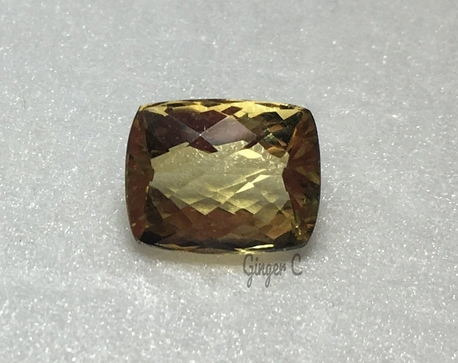 10x8mm Antique Cushion Cut 3.25ct