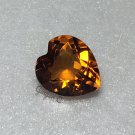 Madeira Citrine 9mm Heart 2.06ct