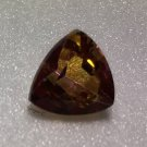 Golden Topaz 10mm Trillion 4.35ct