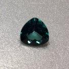 Green Topaz 10mm Trillion 4.25ct