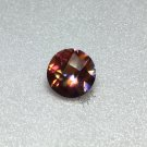 Mystic Mango Topaz 9mm Checker 3.25ct