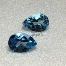 Swiss Blue Topaz 10x7mm Pearshape