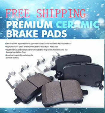 Acura ZDX Disc Brake Pad 2013-10Rear-All OE Pad Material Is CeramicCFC1281