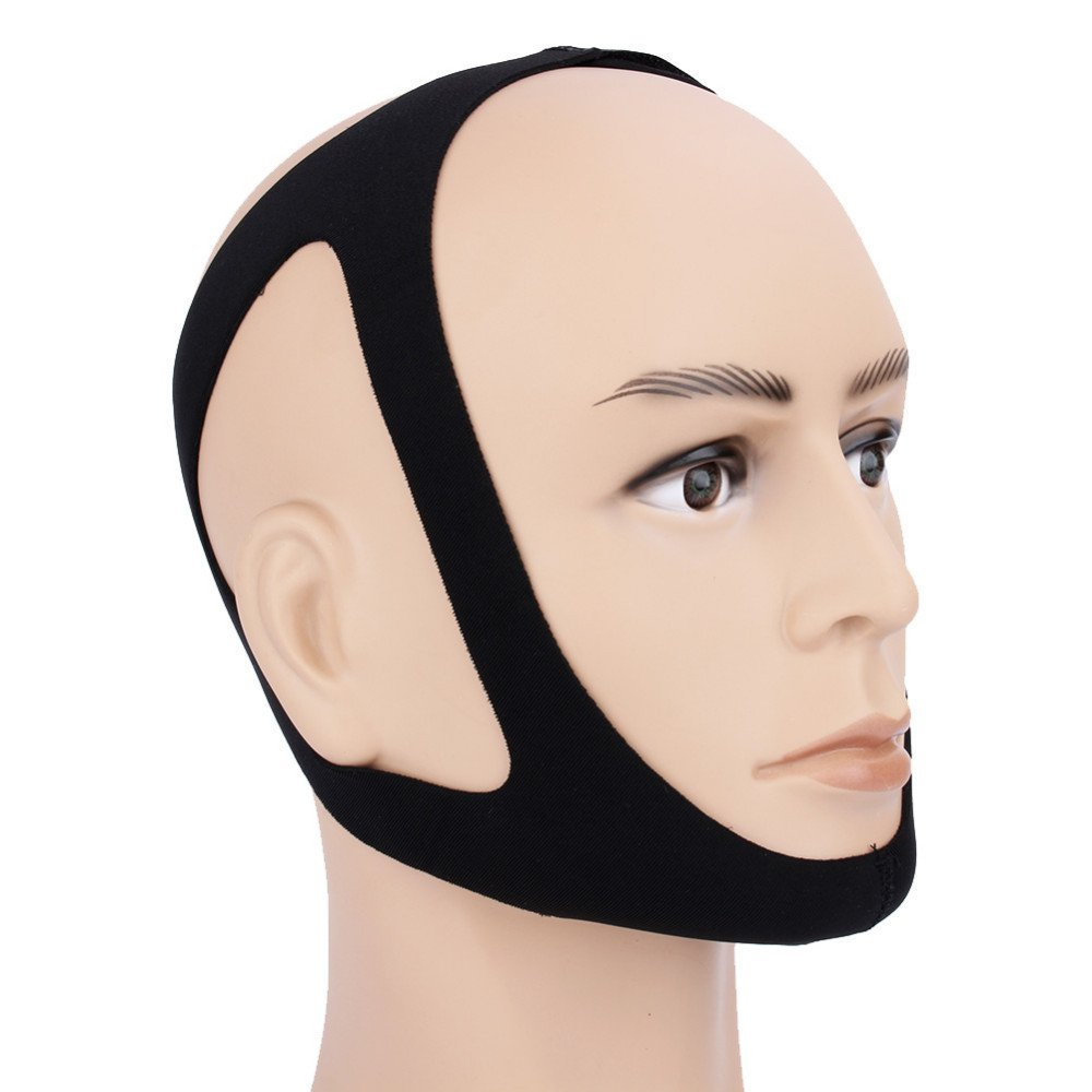 Stop Snoring Sleep Apnea Chin Jaw Support Strap