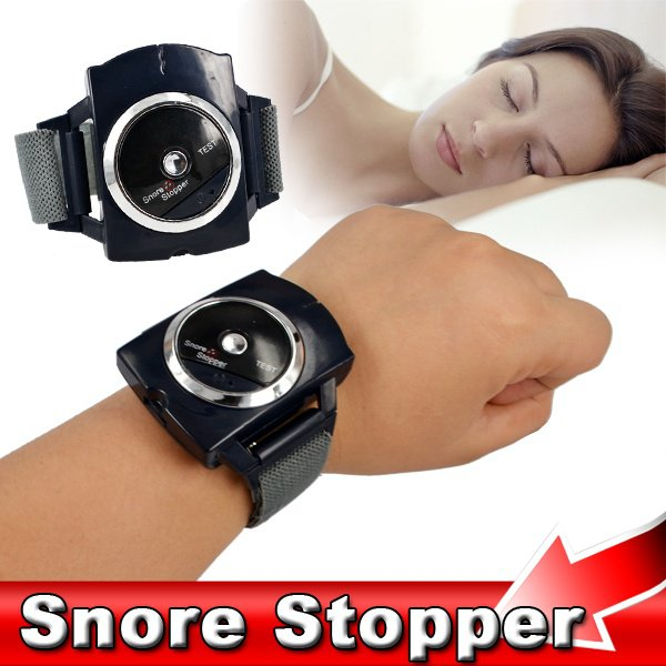 Portable Biosensor Infrared Ray Detects Anti Snoring Device Wristband Watch Sleeping Aid Equipment