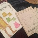 McCall Patterns M5560 Stitch N Save Toddler Girls Clothes Top Dress Shorts Uncut