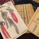 Butterick Vintage Pattern 5664 Size 16 Rena Rowen Of Jones New York Pants Top