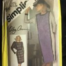 Simplicity Pattern 6570 Adult 16 Women's Dress Vintage Oleg Cassini