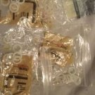 """Lot Of 93 Knitting Bone Rings Dry Cleanable 1/2"""" 7/8"""" Susan Bates Vintage Luxite"""