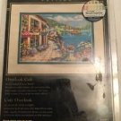 Dimensions Counted Cross Stitch Kit The Gold Collection Petits Overlook Café