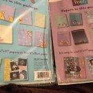 "Winnie The Pooh Scrapbooking Paper Pizazz Peek A Boo Tops Bottoms Lot 8.5""X11"""