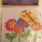 Creative Kids Needlepoint Kit Butterflies And Flowers Ages 6+