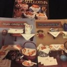 Lot Of 3 Cross Stitch Books Leaflets Bread Cloths Covers II III