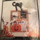 Bucilla Plastic Canvas Halloween Frame & Card Holder Easy Instructions New 6193