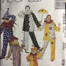 McCalls Pattern 4944 Clown Costume Size 40 42 Large Vtg Be A Clown Adult