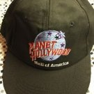 Planet Hollywood Mall Of America Hat SnapBack Black Made In USA