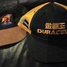 Duracell Hat Lot Of 2 SnapBack Adjustable Black Yellow Oriental Denim I'm Walkin