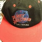Planet Hollywood Las Vegas Hat SnapBack Black Red Adjustable Adult