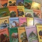 Dinosaur Books Rourke Enterprises Lot Of 20 Retro Childrens Kids Books Hardcover