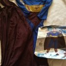 Superman Returns Costume Boy Size Medium Body Cape Complete New