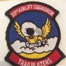 Patch Memorabilia 39th Airlift Squadron Trailblazers Rockabilly Americana