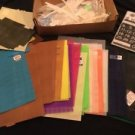 Perpetual Calendar Plastic Canvas Kit Lot Huge Assortment Sheets Craft DIY Kit