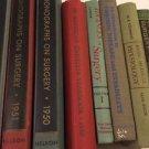 Vintage Lot Of Science Medical Books Hardback Antiquarian 50s Mid Century