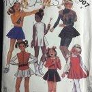 McCalls Pattern 2007 Size 8 Girls Costume Cheer Majorette Dress Skirt Vintage