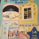 Winnie The Pooh Paint Your Room Books Craft Unused Vintage Diy 5 Easy Projects