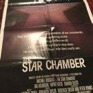 STAR CHAMBER Movie Poster 1983/ Michael Douglas, Hal Holbrook, Yaphet Kotto