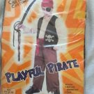 Playful Pirate Costume Boy Size Medium 5 Piece Complete Up To Size 12