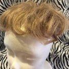 Wig Topper Clip On Women's Short Dark Blonde Light Brown Wavy