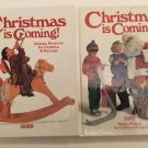 Christmas Is Coming 1988 1989 Holiday Projects For Children And Parents Lot Of 2