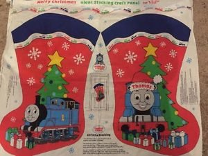 Thomas The Train Giant Christmas Stocking Fabric Craft Panel VIP Multiples Bty