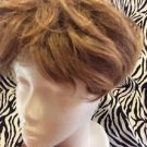 Paula Young Wig Topper Clip On Women's Short Wavy Light Brown No1