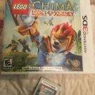 Nintendo 3ds Games Lot Of 2 Lego Chima Lavals Journey Ninjago Nindroids