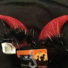 Top Paw Dog Halloween Costume Accessories Devil Ear Horns Red Black New Large