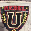 Little Rebel U Vintage Patch Homemade Rockabilly Preppy Hipster Memorabilia