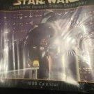 Star Wars Calendar 1999 Darry Vader Reveals Anakin Sky walker Sealed Made USA
