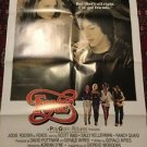 FOXES 1980 One Sheet Movie Poster 27x41 Style B Jodie Foster Scott Bario Vtg