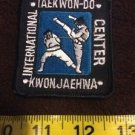 Taekwo-do kwon Jaehwa International Center Patch