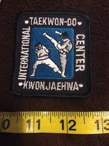 Taekwo-do kwon Jaehwa International Center Patch