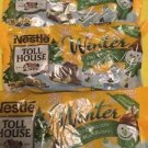 Nestle Toll House Winter Three Bags Chocolate  Mint Baking Morsels Chips 10oz