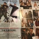The Survivors 1983 Movie Poster And Lobby Card Set 8 Robin Williams Original Vtg